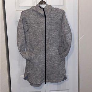 Luluemon grey out wear jacket 6
